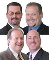 Mike Harris, Darren Orshoff, <br>Tom Armstrong and Michael Ballinger